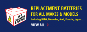 Replacement Batteries for all Makes & Models